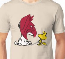 Battle Snoopy and He-Bird Unisex T-Shirt
