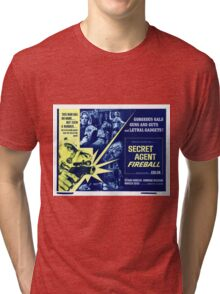 Secret agent fireball Tri-blend T-Shirt