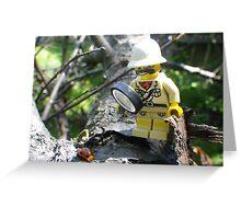 Ladybug Explorer Greeting Card