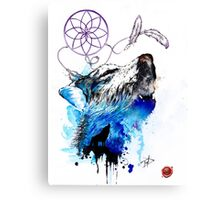 Hungry like a Wolf Canvas Print