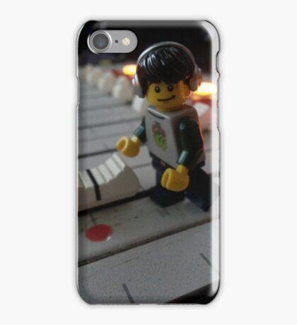 DJ Minifig iPhone Case/Skin