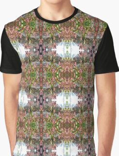 Flowered Window Graphic T-Shirt