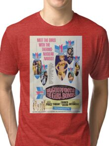 DR. Goldfoot & the girls Bombs Tri-blend T-Shirt