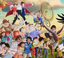 Studio Ghibli Family Sticker