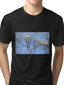 Dogwood Blossoms Tri-blend T-Shirt