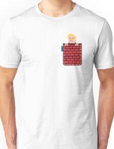 tronald dump wall pocket tee Unisex T-Shirt