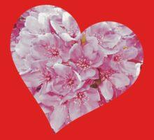 Blooming Heart.  Kids Tee