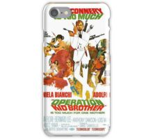 Operation Kid Brother iPhone Case/Skin