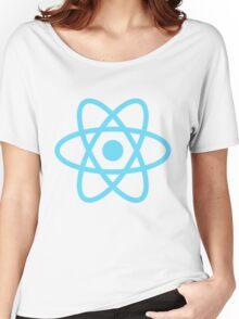 React JS Women's Relaxed Fit T-Shirt