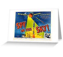 Spy in the Sky Greeting Card