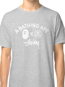 Bathing ape and Stussy!! Classic T-Shirt