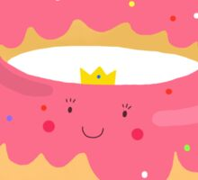 Donut princess Sticker