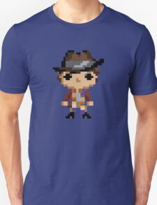4th Doctor (8-bit) Unisex T-Shirt