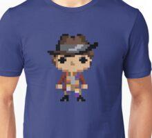 4th Doctor (8-bit) Unisex T-Shirt