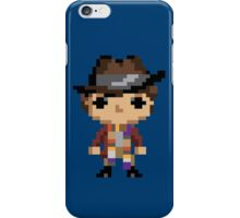 4th Doctor (8-bit) iPhone Case/Skin