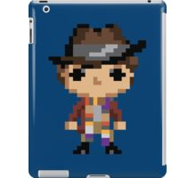 4th Doctor (8-bit) iPad Case/Skin