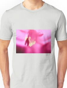 Christmas Cactus Close Up Unisex T-Shirt