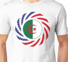Algerian American Multinational Patriot Flag Unisex T-Shirt