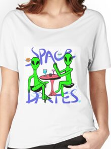 Space dates Women's Relaxed Fit T-Shirt