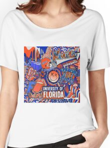 Florida Collage Women's Relaxed Fit T-Shirt