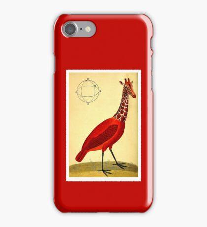 Bird Giraffe iPhone Case/Skin