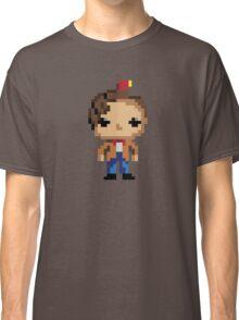11th Doctor (8-bit) Classic T-Shirt