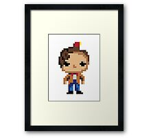 11th Doctor (8-bit) Framed Print