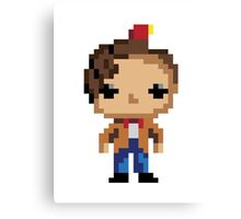 11th Doctor (8-bit) Canvas Print