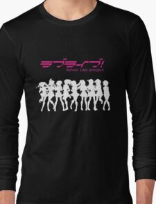 Love Live! School Idol Project (White Edition) Long Sleeve T-Shirt