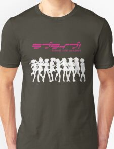 Love Live! School Idol Project (White Edition) Unisex T-Shirt