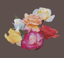 Roses Baby Tee