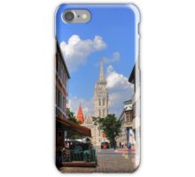 View of Matthias Church iPhone Case/Skin