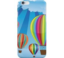 Air Balloons in the Sky 6 iPhone Case/Skin