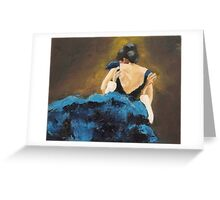 Death and the Maiden II Greeting Card