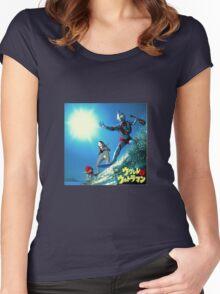 Surf Ultraman Women's Fitted Scoop T-Shirt