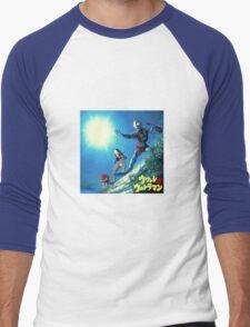 Surf Ultraman Men's Baseball ¾ T-Shirt
