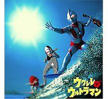 Surf Ultraman Photographic Print
