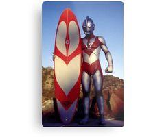 Surf Ultraman 1 Metal Print
