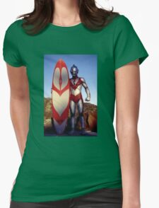 Surf Ultraman 1 Womens Fitted T-Shirt