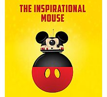 BB8 Friends Series 1 - The Inspirational Mouse Photographic Print