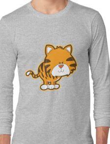 Cute baby tiger Long Sleeve T-Shirt