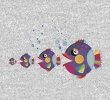 Cat fish One Piece - Short Sleeve