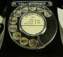 Old Telephone Sticker