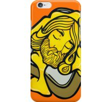 Grilled Cheesus (On Toast) Pop Art iPhone Case/Skin