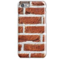 Red Brick Wall Texture iPhone Case/Skin