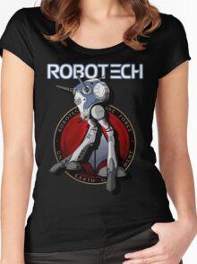 Regult Robotech macross zentradi zentran robot Women's Fitted Scoop T-Shirt