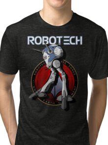 Regult Robotech macross zentradi zentran robot Tri-blend T-Shirt