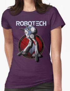 Regult Robotech macross zentradi zentran robot Womens Fitted T-Shirt