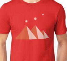 Giza Pyramids Stars of Orion's Belt  Unisex T-Shirt