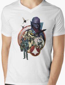 Robotech Mens V-Neck T-Shirt